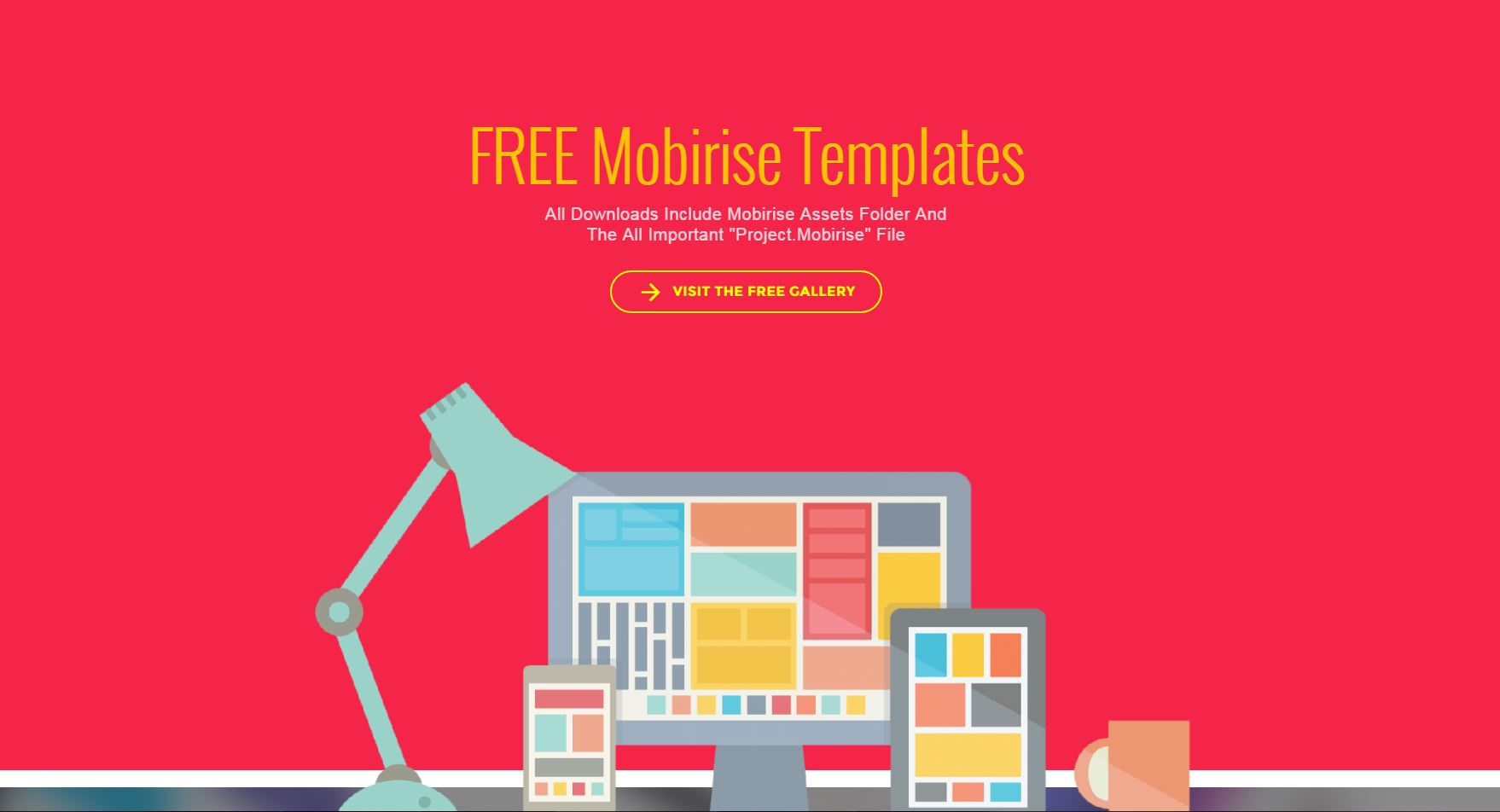 Free Basic Templates For Download For Use With Mobirise
